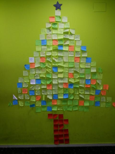 El árbol de los de deseos